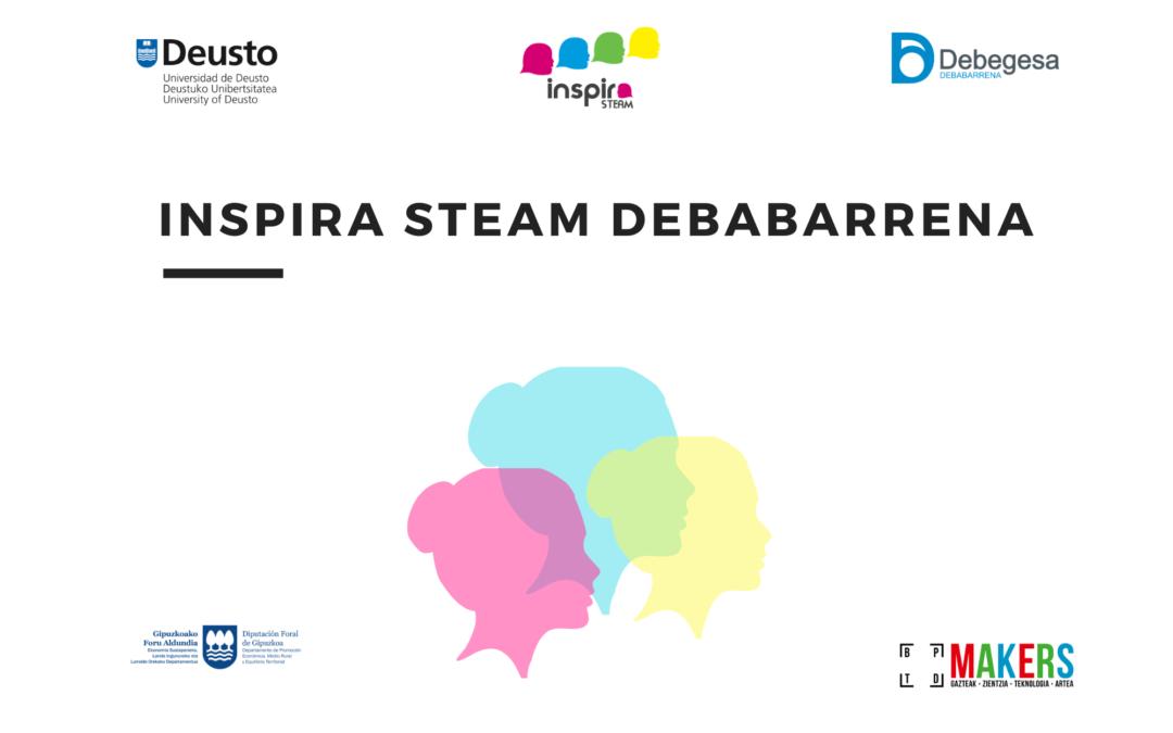 Buscamos centros educativos para participar en el programa Inspira STEAM Debabarrena 2020