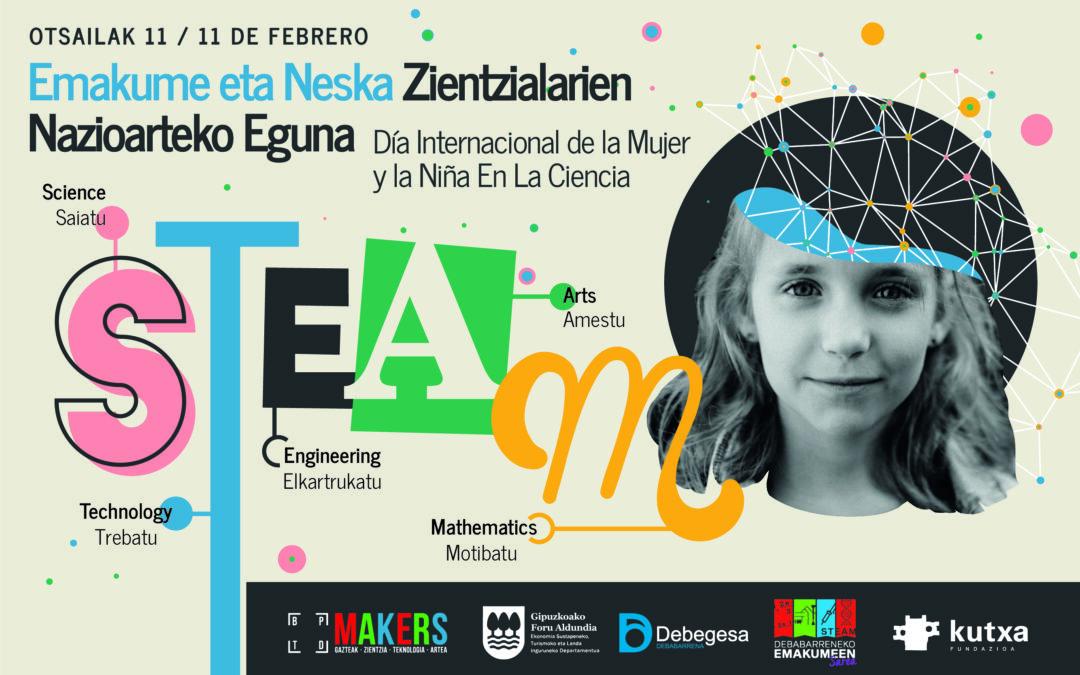 Día Internacional de la Mujer y la Niña en la ciencia en Debabarrena